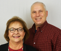 Carla and Matt Lunn, Caring Transitions of Pontotoc, Union and Lee Counties