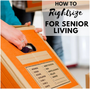 How to right size for senior living