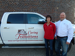 Christy Briggs and Jon Wessels, Caring Transitions of Eastern Iowa
