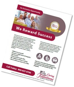 Caring Tansitions Winner's Circle Brochure
