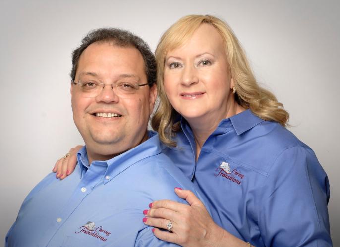Steve and Tamara Acosta, Caring Transitions of Cary, NC