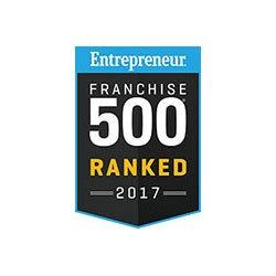 Entrepreneur Ranked Top 500 Franchises 2017