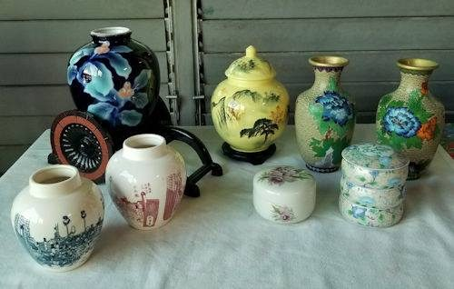 Pottery from a Caring Transitions Estate Sale
