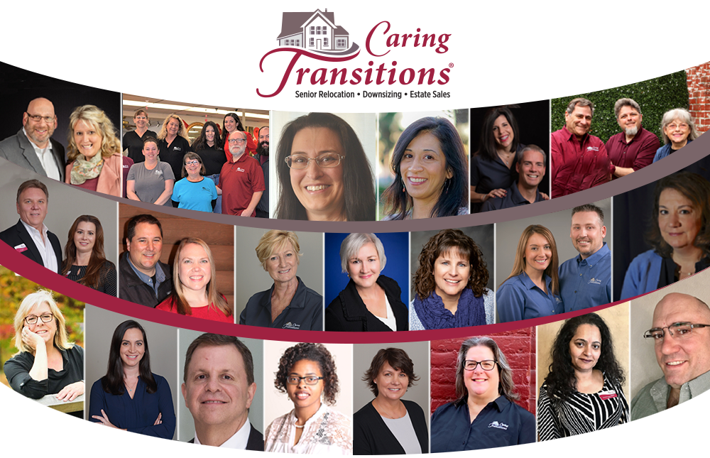 Caring Transitions Franchise Owner Collage