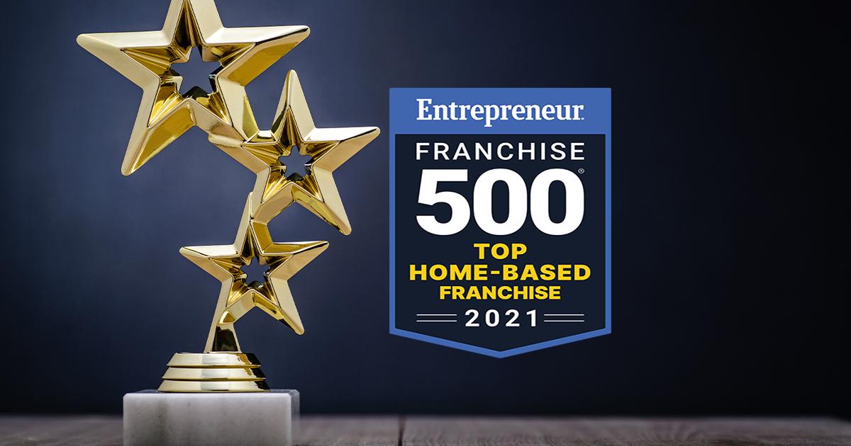 Top Home Based Franchise Award